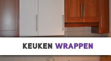 project keuken wrappen