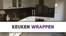 keuken hoogglans folie